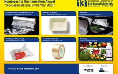 Опубликованы шесть номинантов: Премия за инновации «Биологический продукт года», 2020