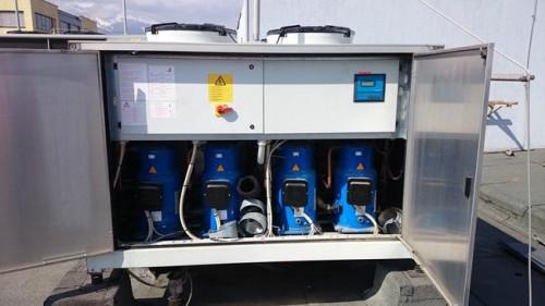 Чиллер б/у Climaveneta 170 кВт, 2005 г.в.