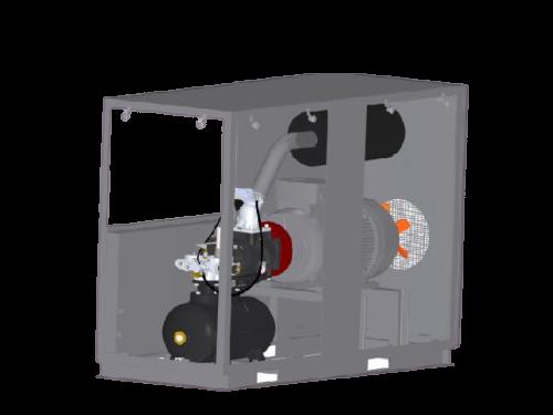Винтовой компрессор VANCK ASC55/8