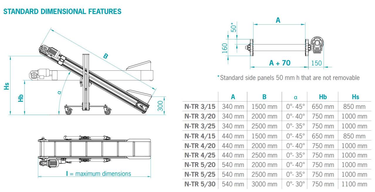 Конвейер Mb Conveyors серии N-TR