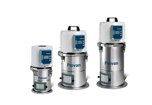 Однофазные вакуумные загрузчики Piovan серии S